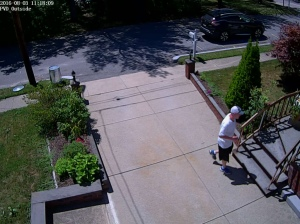Surveillance photo from the Church Street break-in
