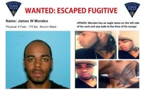 Escaped fugitive James Walker Morales