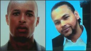 Safiro Furtado and Daniel De Abreu (Photos shown in court)